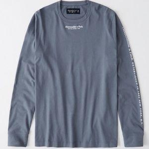 Abercrombie long sleeve shirt size XL